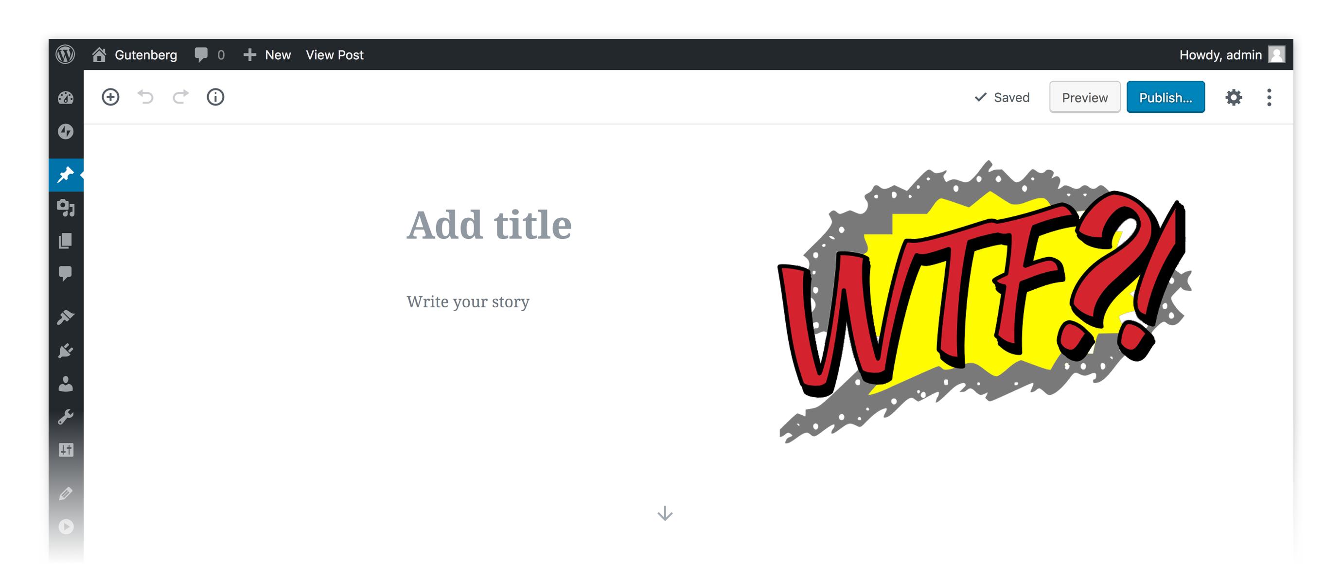 Как отключить редактор Gutenberg в Wordpress?