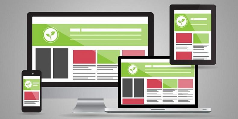 Адаптивный дизайн сайта, интерфейс и скорость загрузки